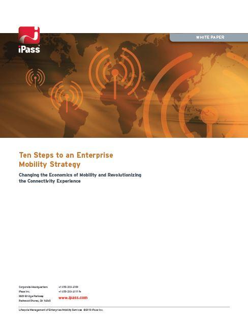 10 étapes pour une stratégie d'entreprise mobile (Anglais)