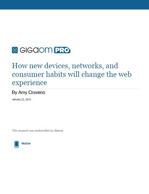 Comment les nouveaux appareils, réseaux, et habitudes des consommateurs vont changer l'expérience du web