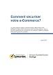 Comment sécuriser votre e-Commerce?