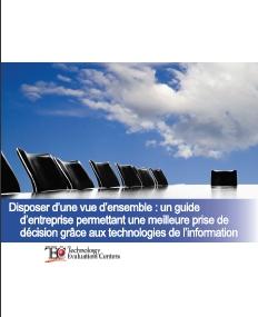 Disposer d'une vue d'ensemble: un guide d'entreprise permettant une meilleure prise de décision grâce aux technologies de l'information.