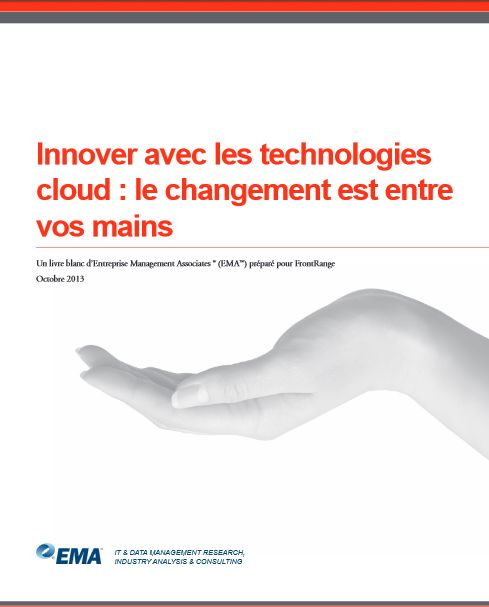 EMA, Innover grâce aux technologies cloud – Le changement est entre vos mains