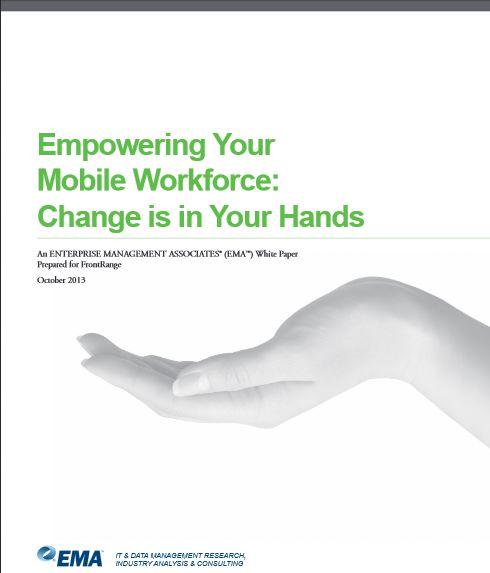 Consolidez votre main d'oeuvre mobile: Le changement est entre vos mains