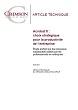 Etude Crimson Consulting : Acrobat X : choix stratégique pour la productivité de l'entreprise