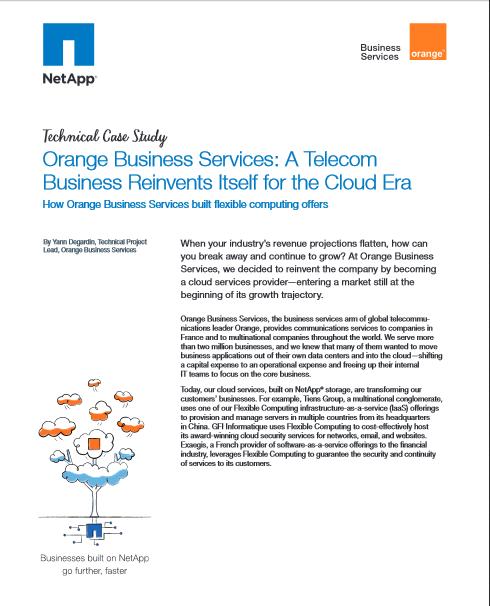 Etude de cas: Les services Orange Business, le Business Télécom se réinvente à l'ère du cloud