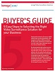 Guide de l'acheteur des solutions de vidéo surveillance