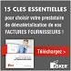 Guide pratique Esker : Dématérialisation des factures fournisseurs : les 15 questions à vous poser
