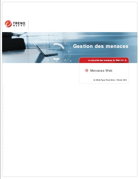 La sécurité des menaces du Web 2.0