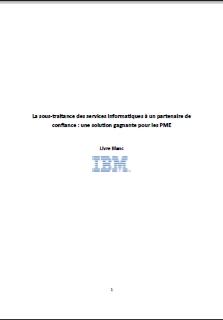 La sous-traitance des services informatiques à un partenaire de confiance : une solution gagnante pour les PME.