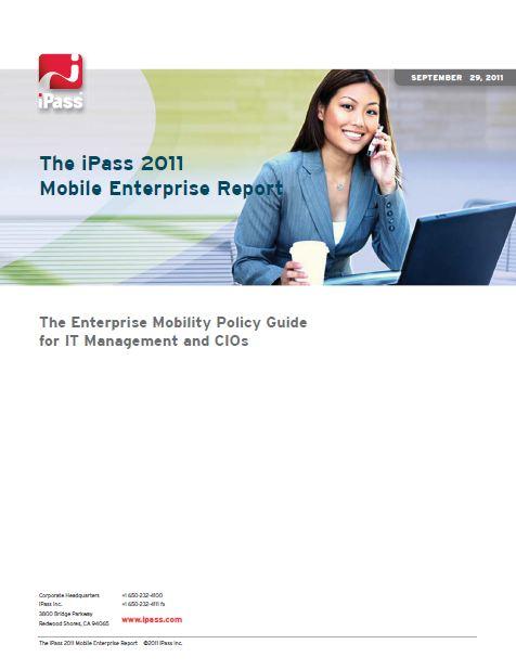Le rapport iPass de l'entreprise mobile 2011 (Anglais)