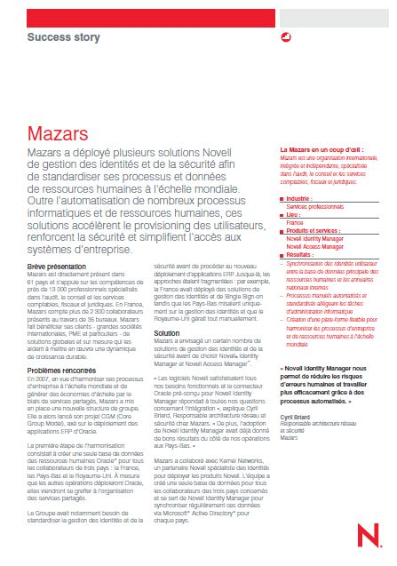 Success Story: Mazars