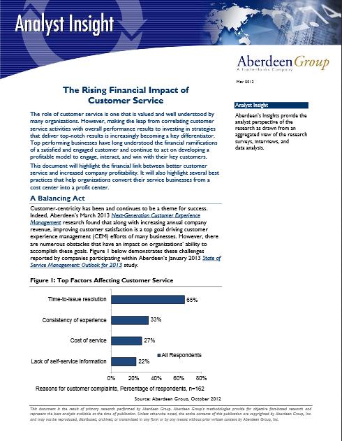 L'impact financier croissant des services consommateurs
