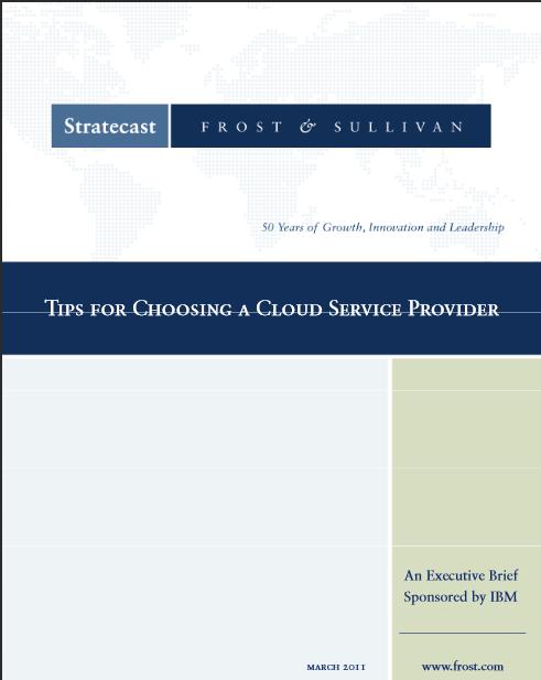 Conseils pour choisir un fournisseur de service cloud