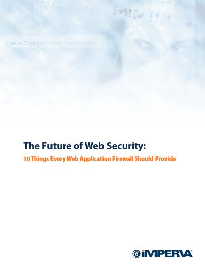 L'avenir de la sécurité sur internet : les 10 éléments que doivent fournir les pare-feux