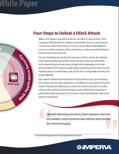 Contrer une attaque DDoS en 4 étapes
