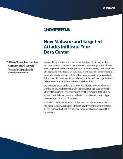 De quelle manière les logiciels malveillants et les attaques ciblées s'infiltrent-ils dans vos data centers ?