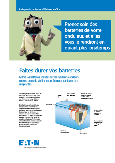Faites durer vos batteries