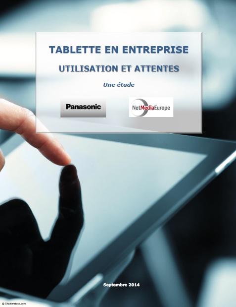 Tablette en entreprise : utilisation et attentes