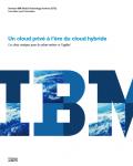 Un cloud privé à l'ère du cloud hybride