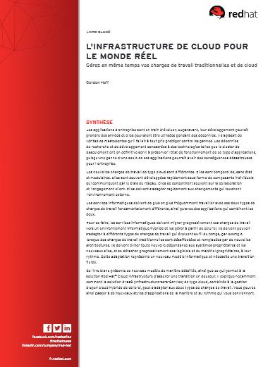 L'infrastructure de cloud pour le monde réel