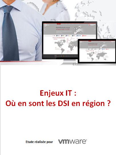 Etude : Enjeux IT : où en sont les DSI en région ?