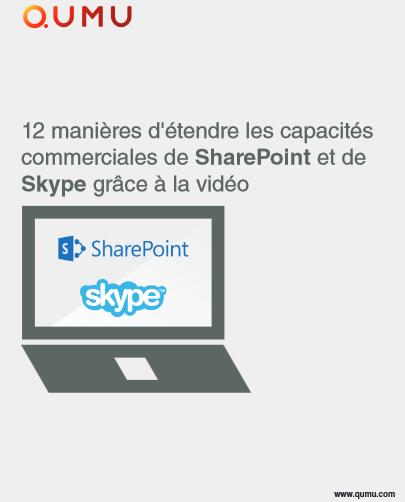 12 manières d'étendre les capacités commerciales de SharePoint et de Skype grâce à la vidéo