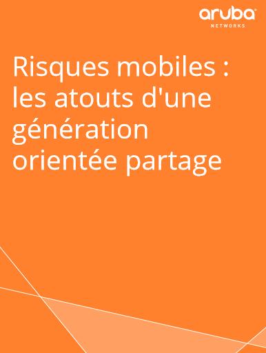 Risques mobiles : les atouts d'une génération orientée partage
