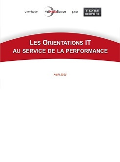 Etude : Les orientations IT au service de la performance