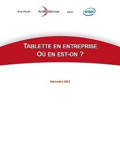 Etude : Tablette en entreprise : où en est-on en Europe ?