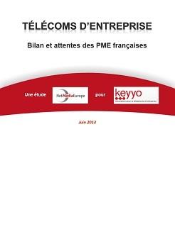 Etude : Télécoms d'entreprise : bilan et attentes des PME françaises