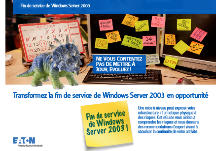 Transformez la fin de service de Windows Server 2003 en opportunité