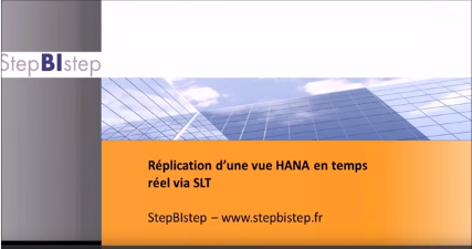 SAP HANA Sidecar – HANA Live Content – SLT