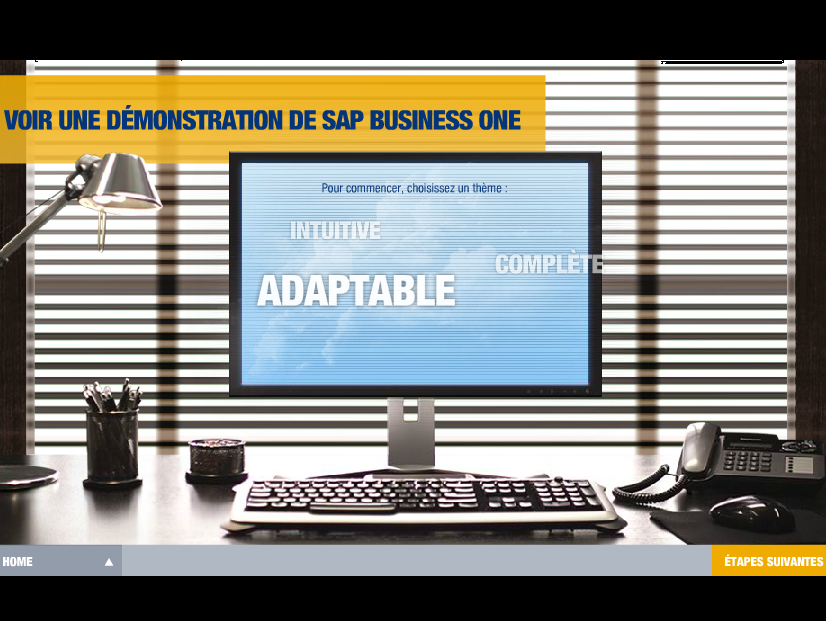 SAP BUSINESS ONE en action