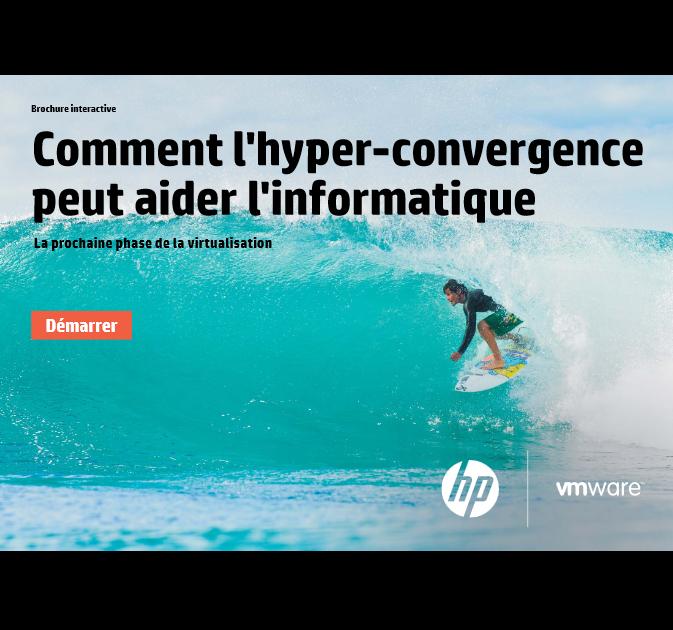 Comment l'hyper convergence peut aider l'informatique