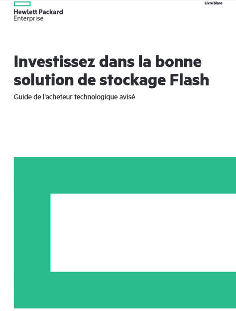 Livre blanc – Guide de protection des données pour le stockage tout-Flash
