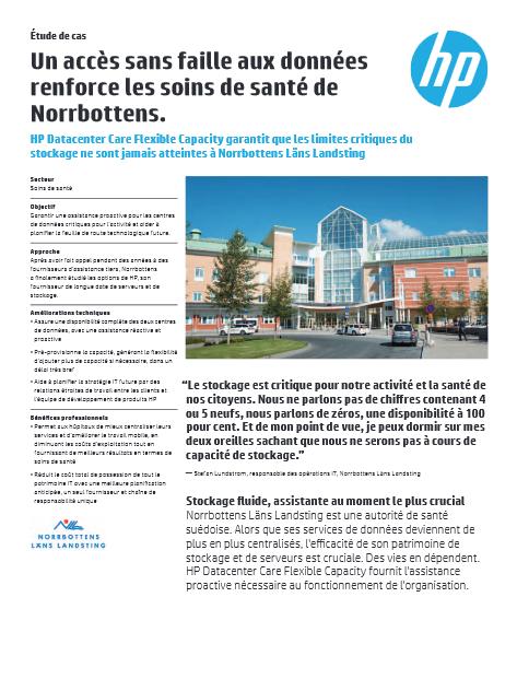 Un accès sans faille aux données renforce les soins de santé de Norrbottens
