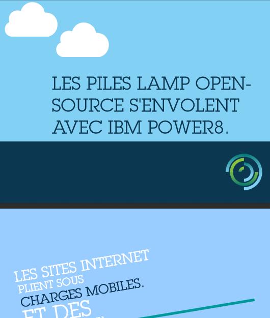 Les piles lamp open-source s'envolent avec IBM Power8