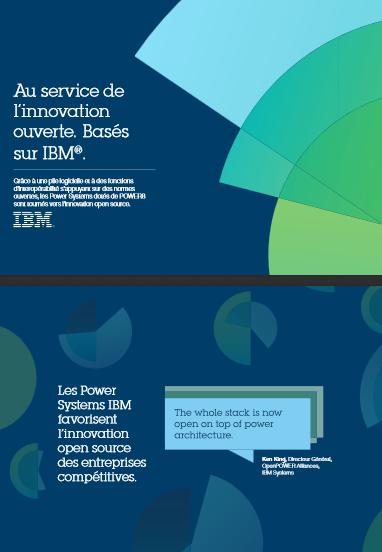 Au service de l'innovation ouverte. Basés sur IBM®
