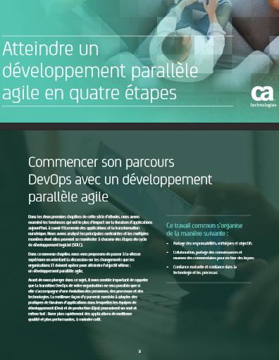Atteindre un développement parallèle agile en quatre étapes