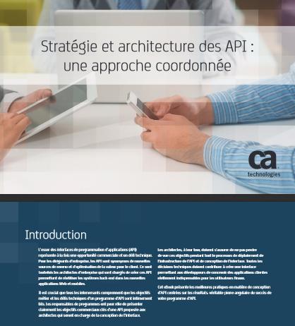 Stratégie et architecture des API : une approche coordonnée