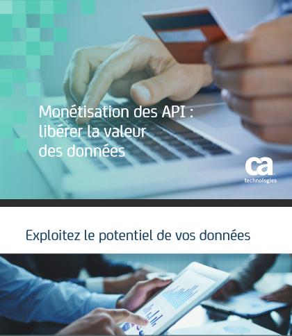 Monétisation des API : libérer la valeur des données