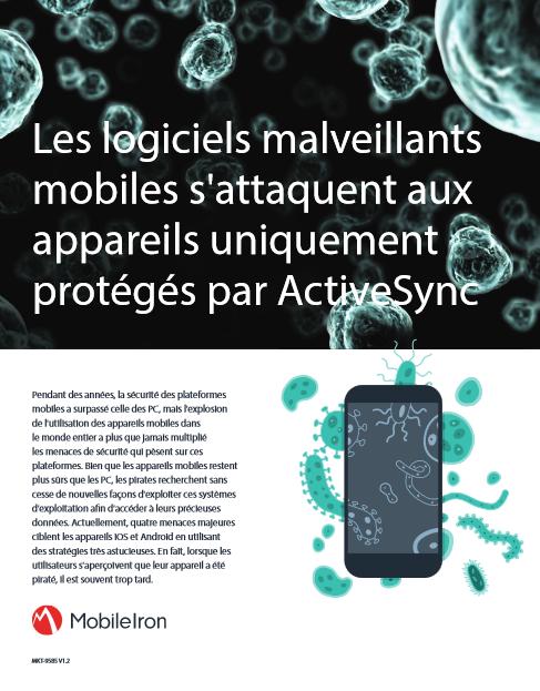 Les logiciels malveillants mobiles s'attaquent aux appareils uniquement protégés par ActiveSync