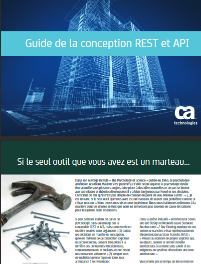 Guide de la conception REST et API
