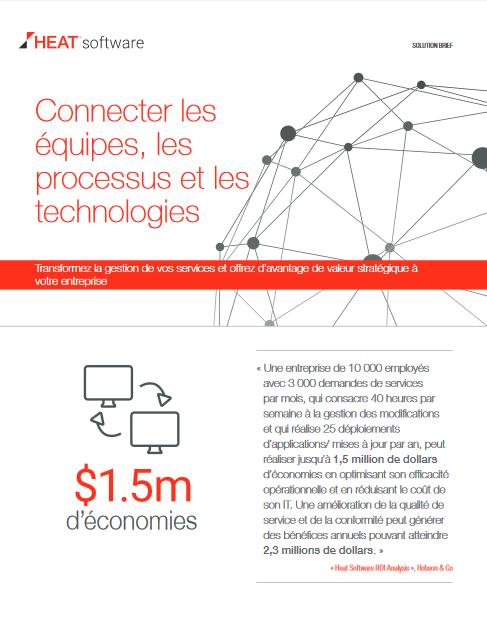 Connecter les équipes, les processus et les technologies