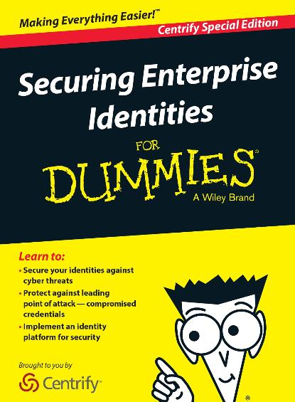 Sécuriser les identités de l'entreprise pour les nuls