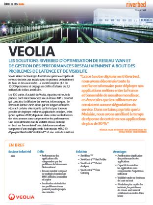 Etude de cas : comment Veolia a résolu ses problèmes de latence et de visibilité grâce à une optimisation de son réseau WAN