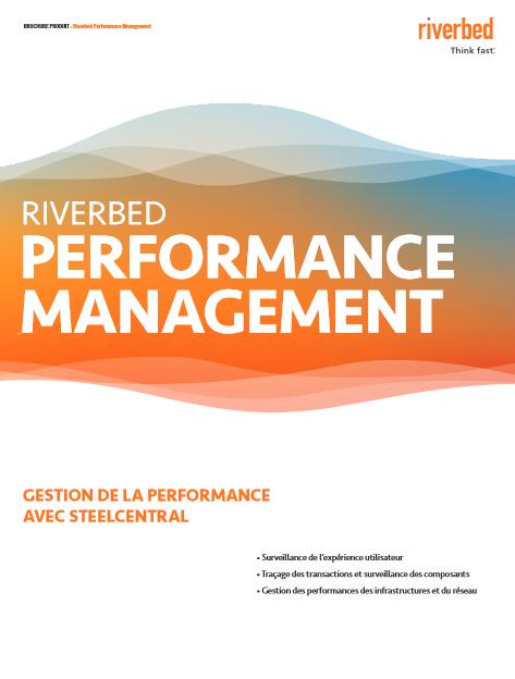 Gestion de la performance des applications
