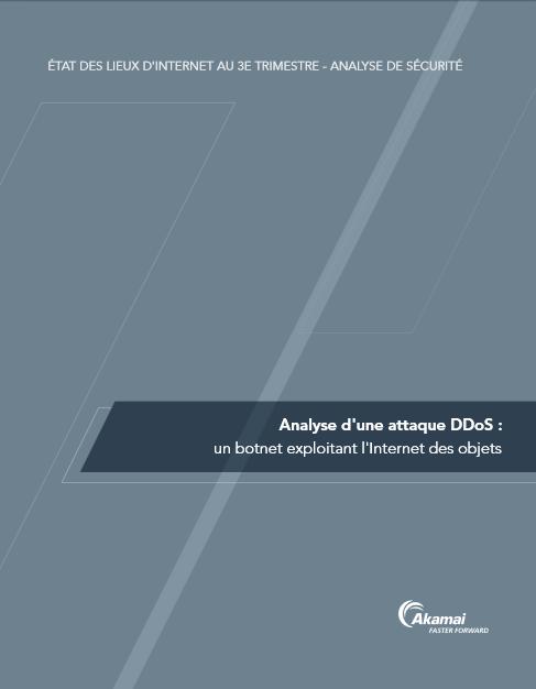 Analyse d'une attaque DDoS : un botnet exploitant l'Internet des objets
