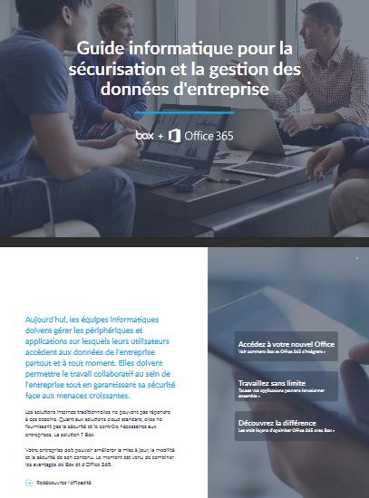 Guide informatique pour la sécurisation et la gestion des données d'entreprise