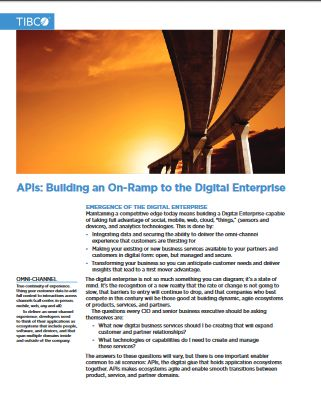 les API au cœur de la transformation digitale