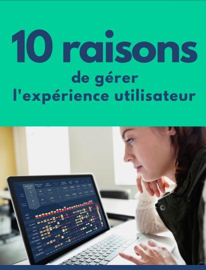 10 raisons de gérer l'expérience utilisateur